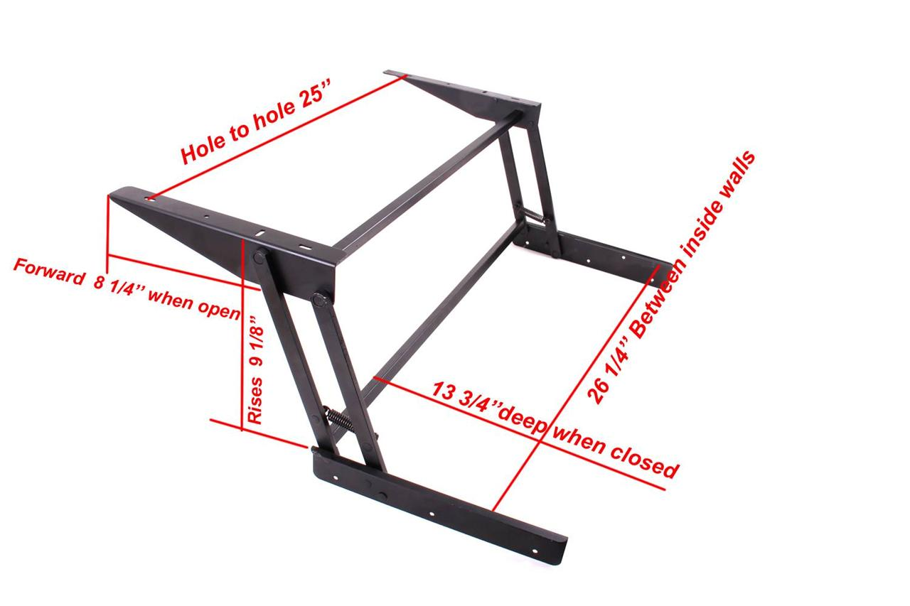 Lift Up Top Large Coffee Table Hardware Fitting Furniture ...