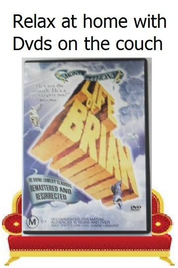 DVD-Monty-Pythons-Life-Of-Brian-R-4-Pythons-Comedy-Cleese-Idle-Palin-Relegion