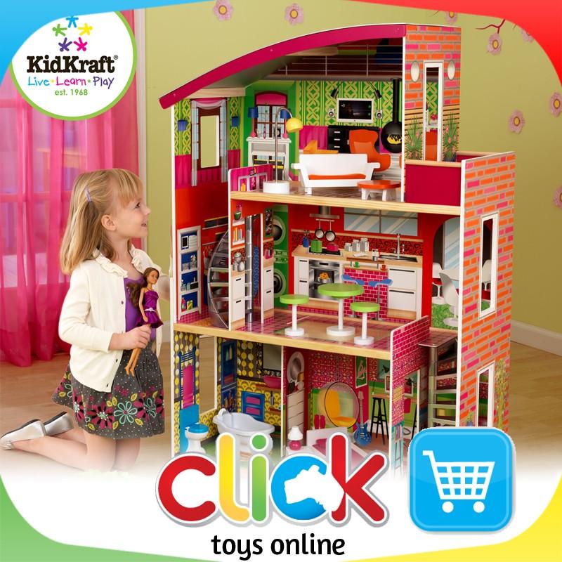 kidkraft designer dollhouse dolls house wooden play