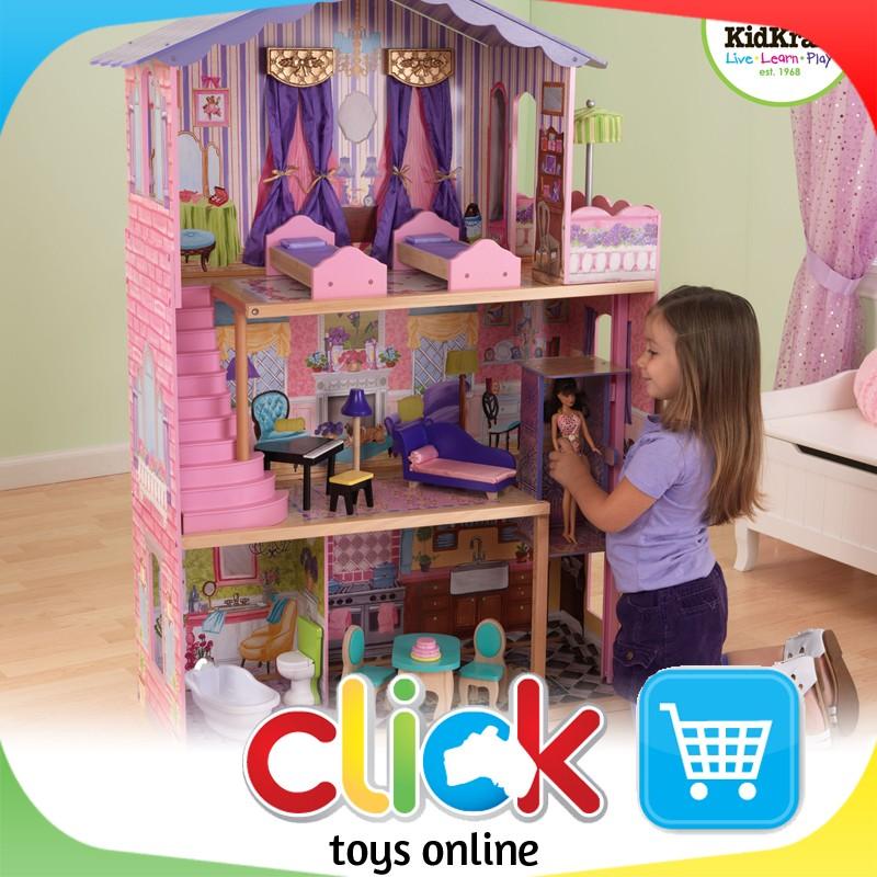 Kidkraft My Dream Mansion Dollhouse Barbie Dolls Wooden