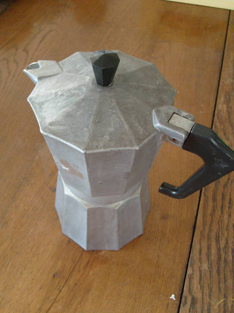 Italian Coffee Maker For Camping : Vintage Italian Made Ital Express Aluminium Stove TOP Camping Coffee POT eBay