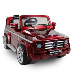 licensed mercedes benz g55 amg kids ride on power wheels