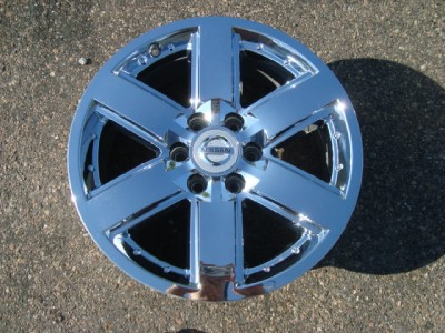 Titan Armada Factory 20 Chrome Wheels Rims 2009 2010 2011 2012