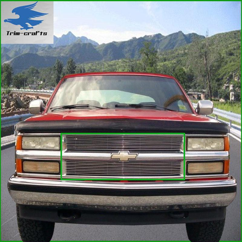 94 95 96 97 98 99 chevy tahoe billet grill grille ebay. Black Bedroom Furniture Sets. Home Design Ideas