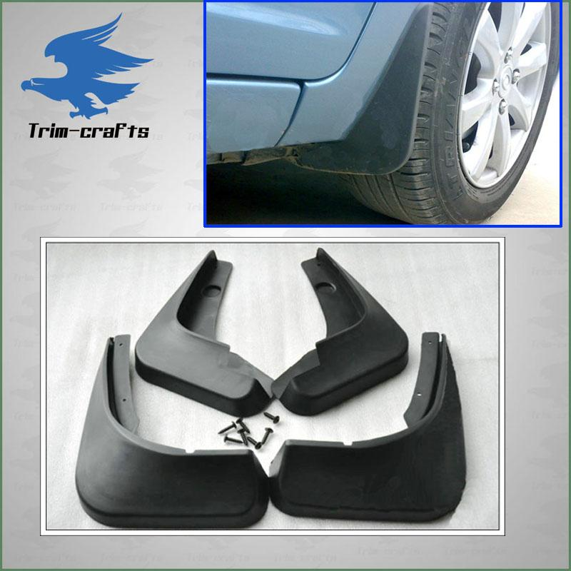 03 04 05 06 toyota corolla mud splash guard flaps set ebay. Black Bedroom Furniture Sets. Home Design Ideas