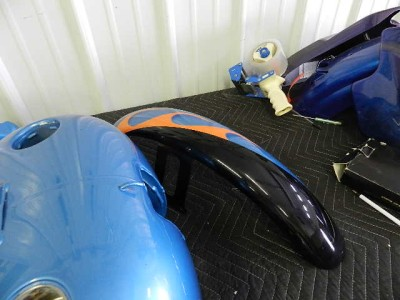 Softail Custom Paint Set Carburated Tank   Front Fender   Rear Fender