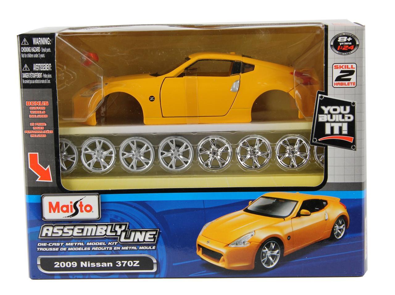 Maisto diecast assembly line model kits 1 24