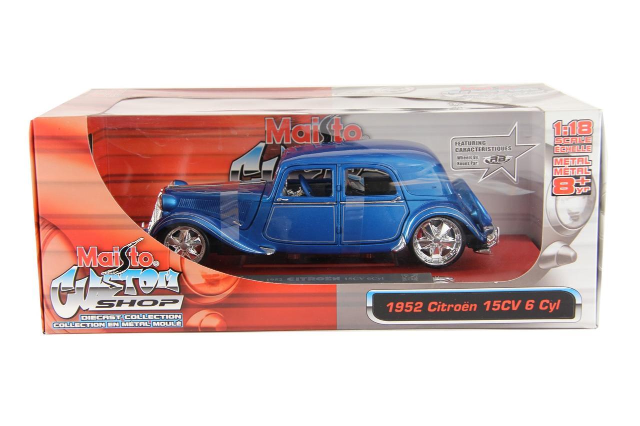 Maisto diecast custom shop model cars allstars 1