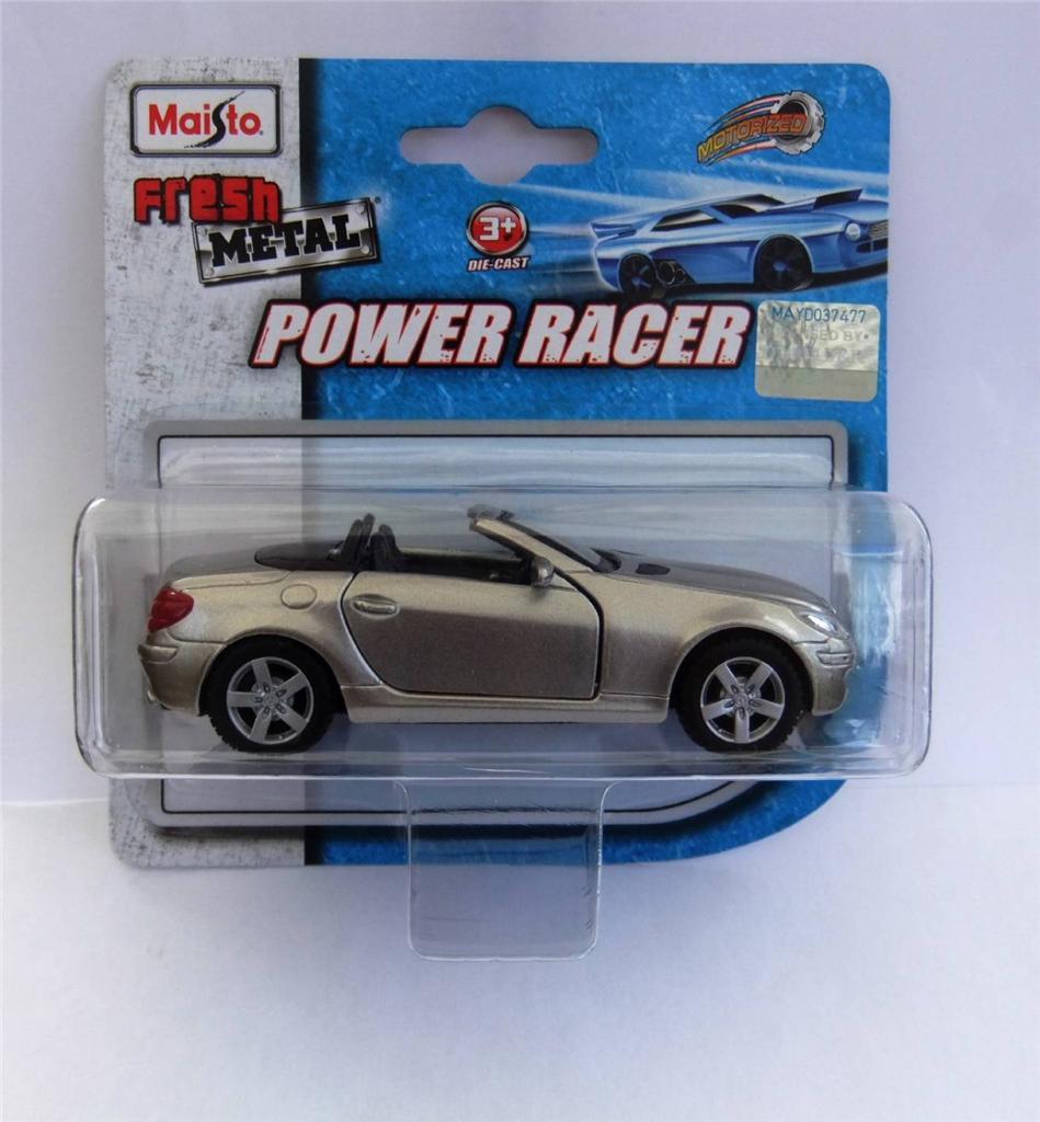 Maisto fresh metal power racer diecast model cars