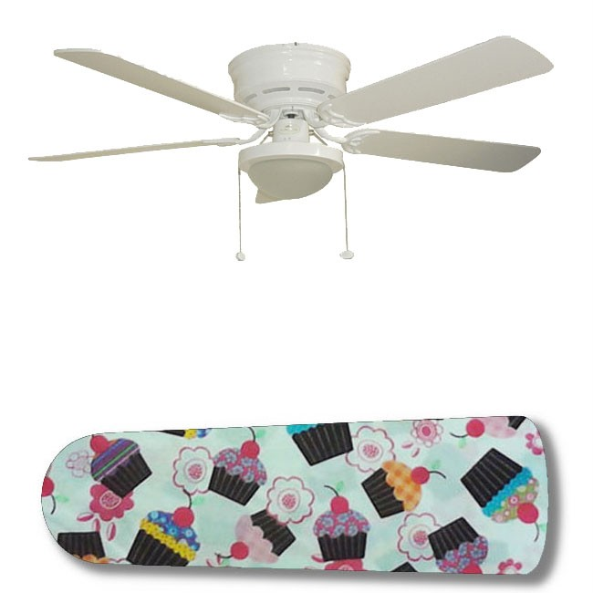crazy cupcake 52 34 ceiling fan with lamp