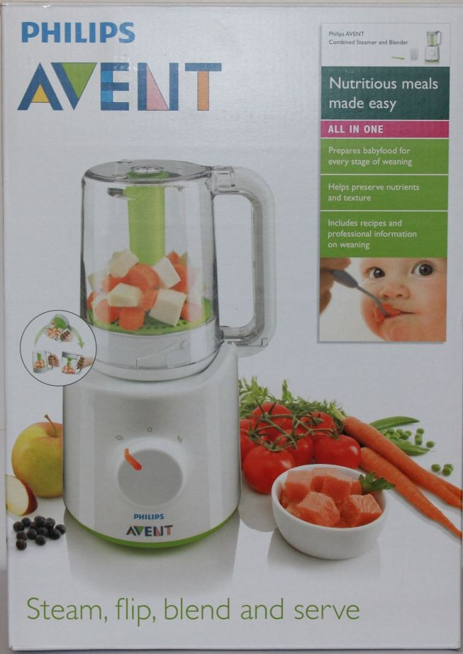 New-Philips-Avent-Steamer-Blender-Multi-Processor-Baby
