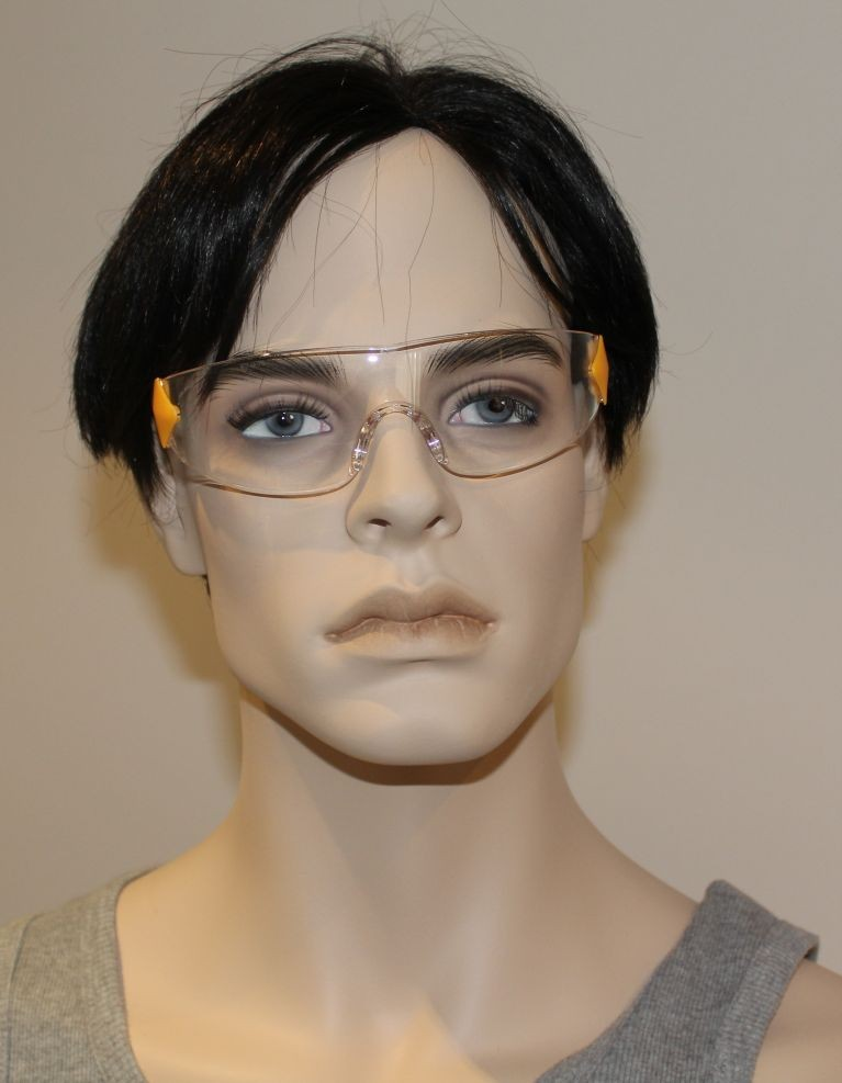 NEW-CATERPILLAR-CAT-SAFETY-GLASSES-CLEAR-LENS-EYE-PROTECTION-IN-STOCK-FAST-POST