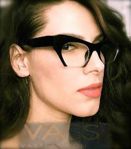 designer eyeglasses frames  large cat eye