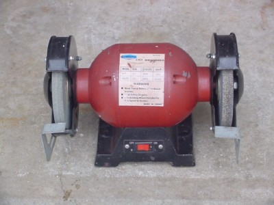 6 Inch Bench Grinder 3 4 Hp Horse Power Cummins Dual Wheel Xlnt Nr Bg6 Ebay