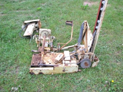 Sears tractor sickle bar mower cutter craftsman ss16 gt20 ss12 suburban haban ebay for Sickle mower for garden tractor