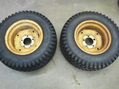 John Deere Wheel Horse Cub Cadet Ariens Tractor 23x10 50 12 Wheels Tires H606