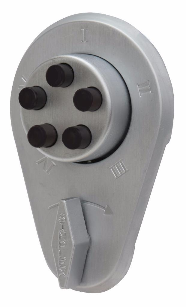 Kaba Simplex 900 Push Button Combination Door Lock 904 Rim