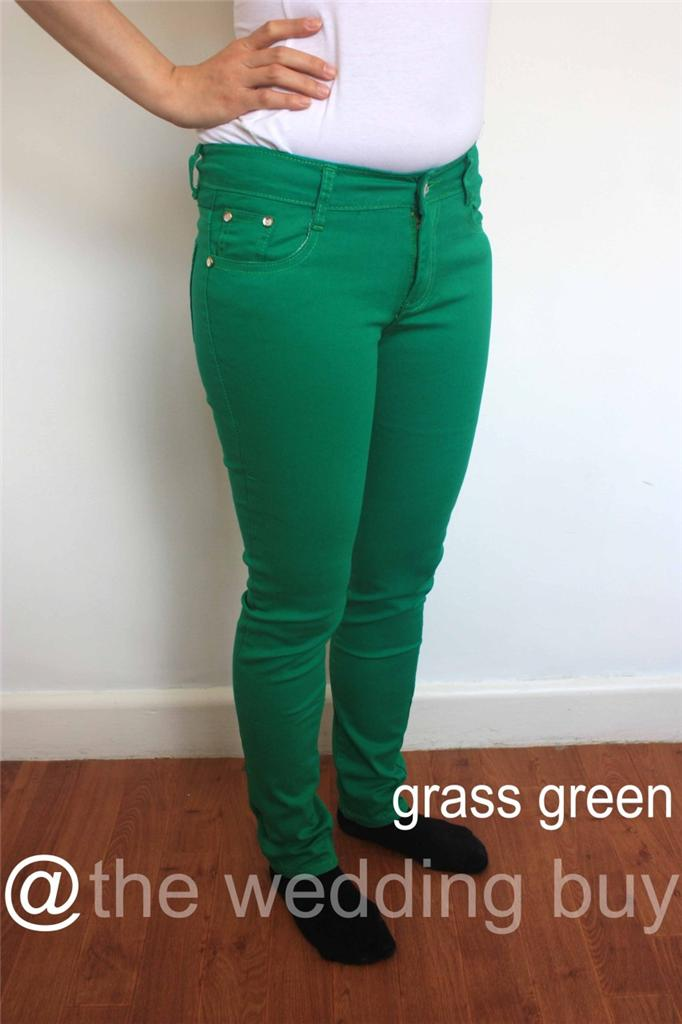 Green Jeans Ladies