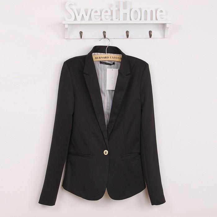 6 Colours Ladies Women Suit Blazer Jacket Coat Foldable Sleeves Neon Candy WS001