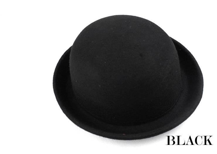 UK Lady Vogue Vintage Women's Wool Cute Trendy Bowler Derby Hat Fashion M001
