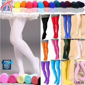 14 couleurs gb fille enfant collant opaque ballet danse chausettes 4 12 ans s016 ebay. Black Bedroom Furniture Sets. Home Design Ideas