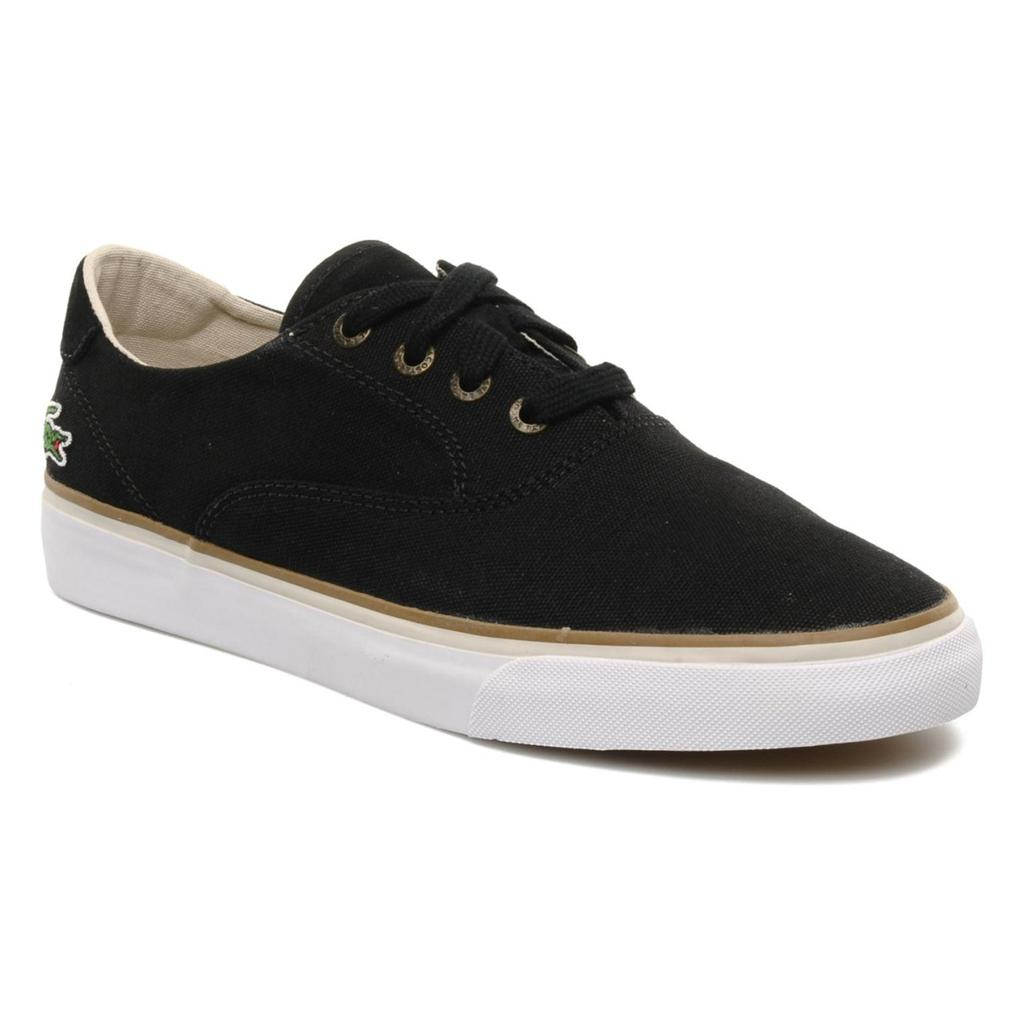 Mens Lacoste Saulieu  Lace Up Canvas Shoes
