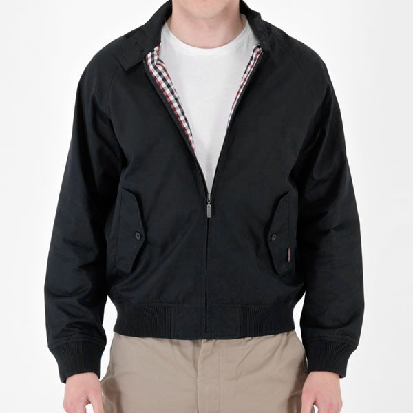 new ben sherman harrington london mens jacket black navy moon all sizes. Black Bedroom Furniture Sets. Home Design Ideas