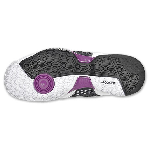 NEW! LACOSTE REPEL 2 Womens Tennis Shoes White/Purple All Sizes