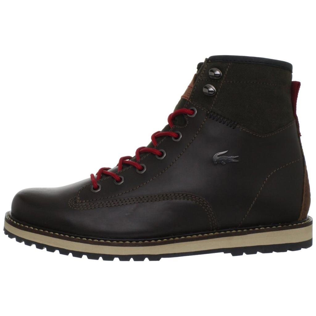 new lacoste monserate 2 mens leather boots shoes