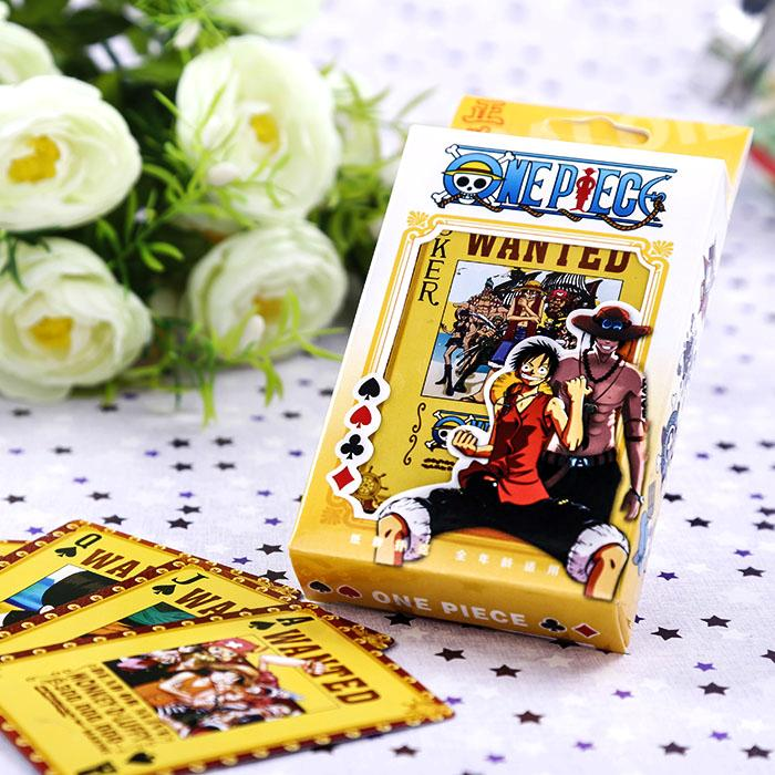 Collection!ONE PIECE NARUTO BLEACH Poker Cards Playing Cards Japanese Anime