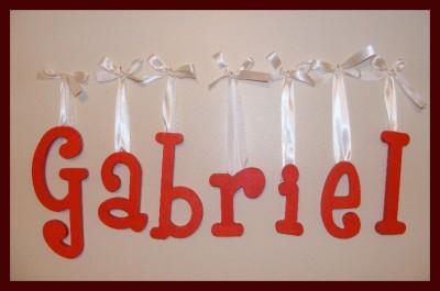 Baby Letters  Nursery on 10  Personalized Wooden Nursery Letters Wall Decor Baby   Ebay