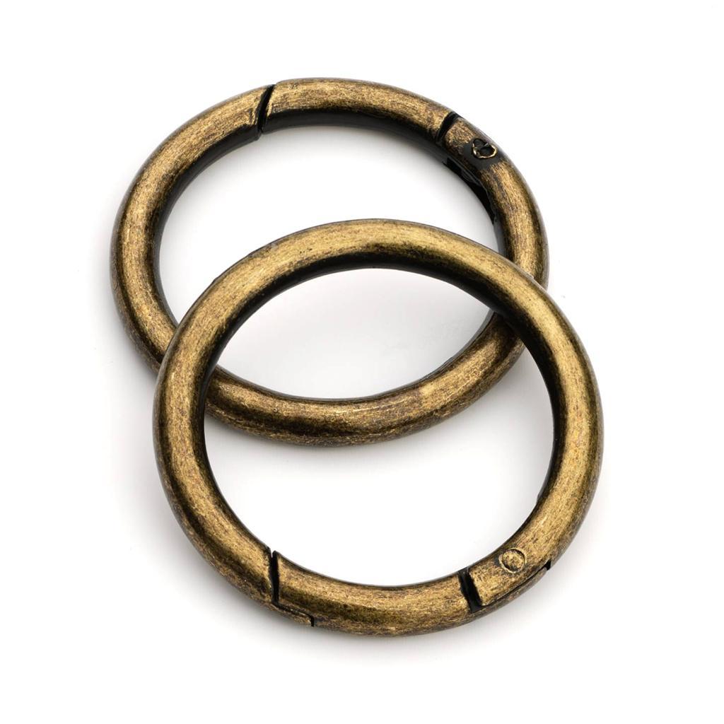 2pcs 1 1 2 quot gate ring antique brass grg 128 ebay