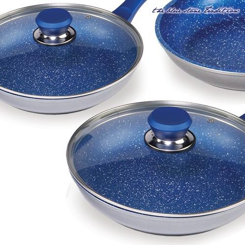 Blue-Stone-Non-Stick-Pan-Set-5-Piece-Healthy-Natural-Uses-Little-Oil