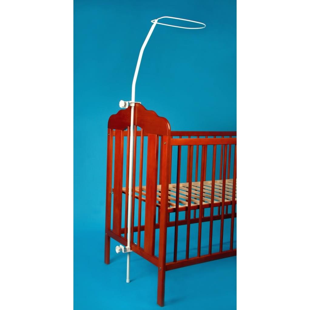 Как сделать держатель для балдахина на детскую кроватку?