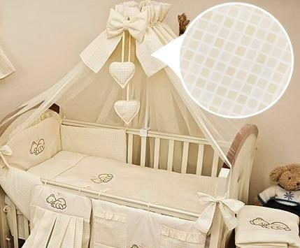 Luxury 8 Piece Nursery Bedding Set Fits Baby