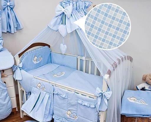 Luxury 8 Piece Nursery Bedding Set Fits Baby