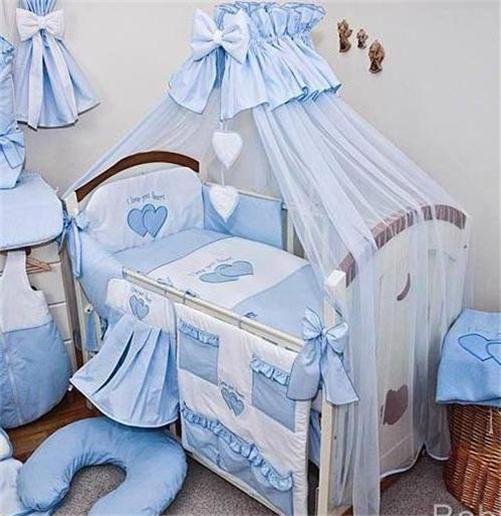 Luxury 12 Piece Nursery Bedding Set Fits Baby