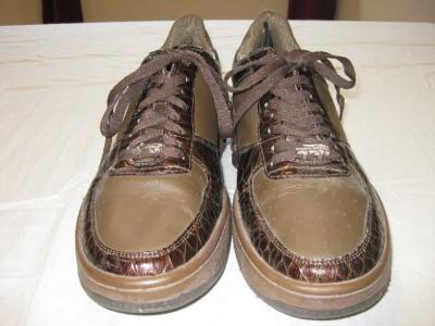 Brown Tennis Shoes on Vlado Brown Luxury Kick Tennis Shoes Size 13 D