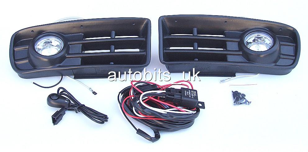 ampoules phare antibrouillard grilles lot pour vw golf 4 mk4 97 02 c blage kit. Black Bedroom Furniture Sets. Home Design Ideas