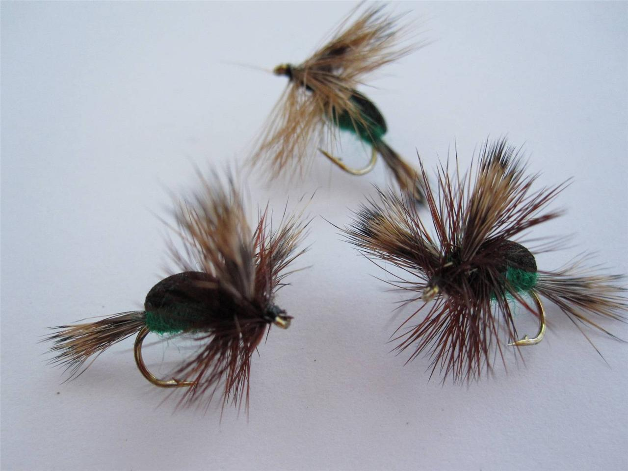 1 DZ 14-4 FOAM BACK HUMPY'S (COLORS & SIZES), DRY FLIES