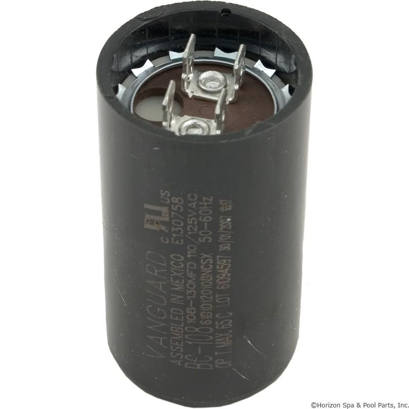pool spa motor pump start capacitor 125vac 1 7 16 x 2 3 4