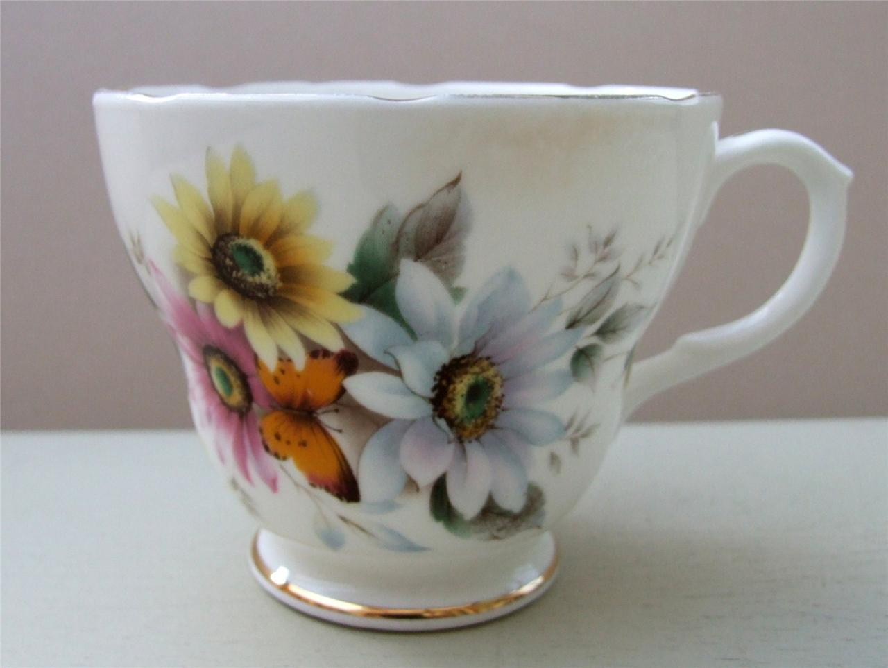 vintage shabby floral chic various china pieces mismatched tea sets ebay