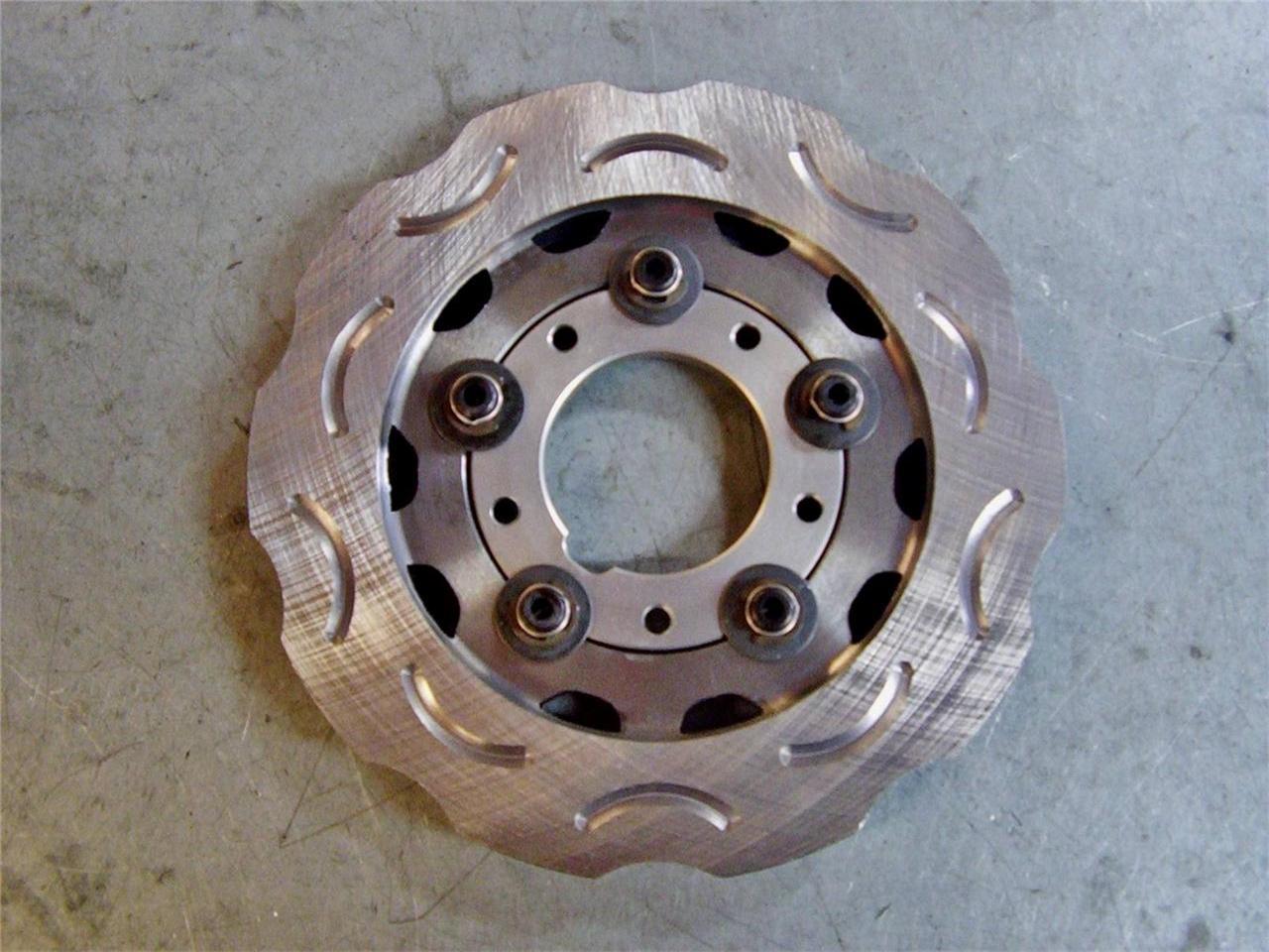 Go kart crg genuine ven cast iron brake disc complete