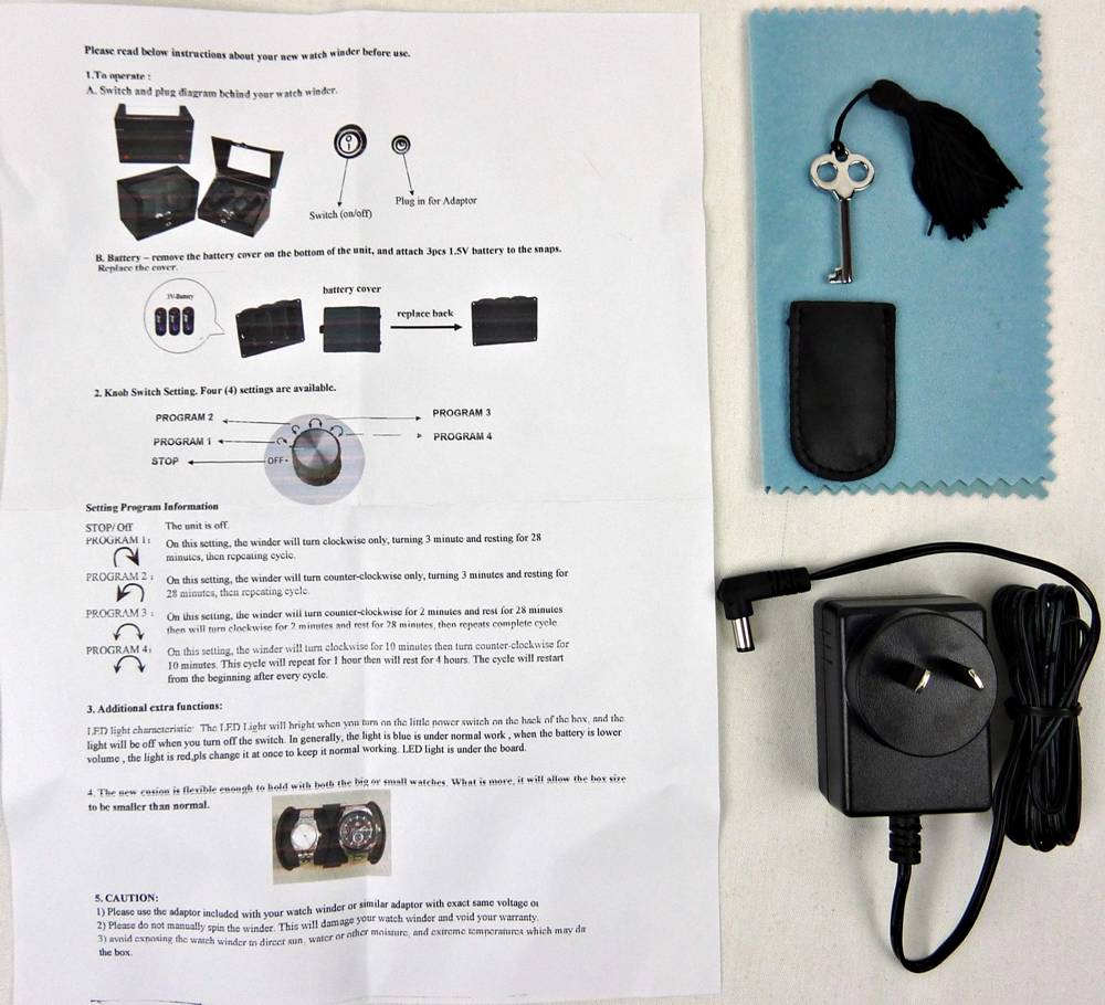 rubber led watch instructions