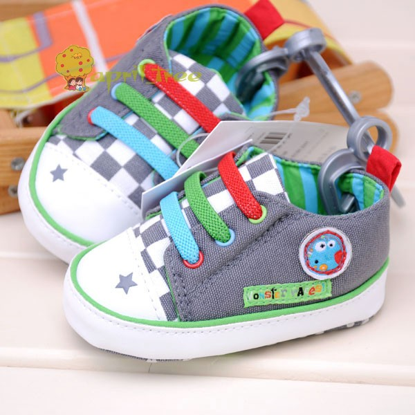 New Toddler Baby Infant Boy Shoes Sneaker Prewalker First