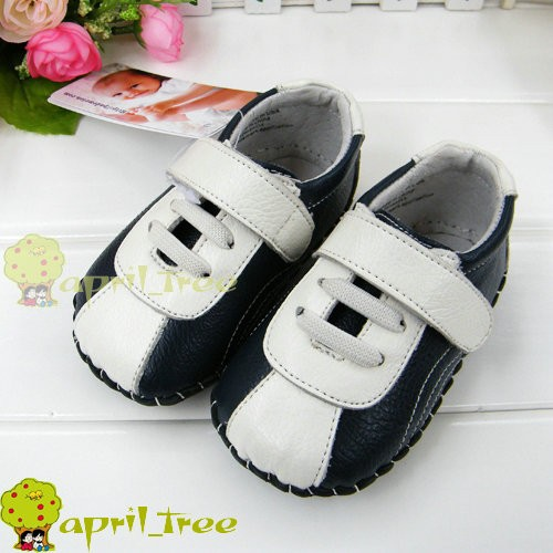 New-Calfskin-Leather-Toddler-Baby-Boy-Girl-shoes-soft-soled-C60-6-18-Months