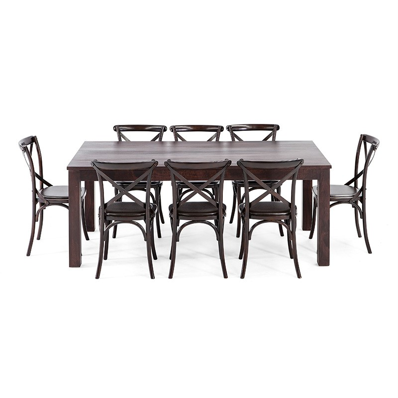 Cheap dining sets brisbane 6ft outdoor banquet plastic for Table for 6 brisbane