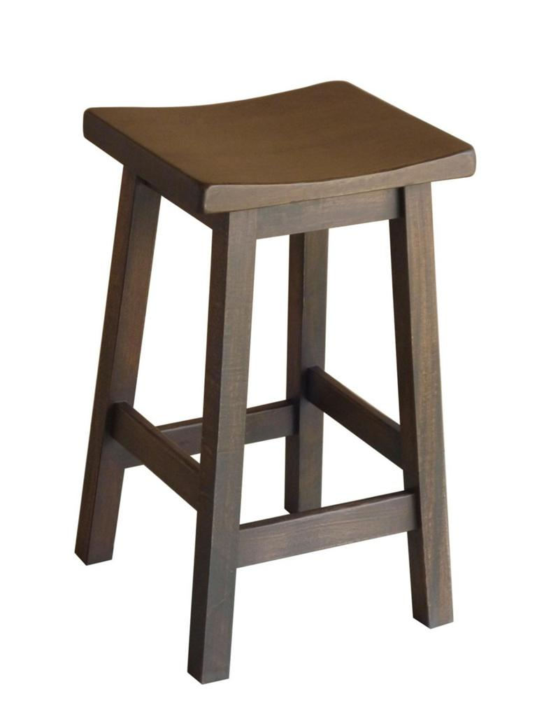 NEW Tokyo Mocha Wooden Japanese Style Shabby Rustic Kitchen Chair