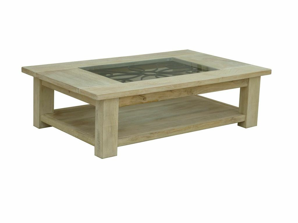 Solid white wash timber tuscany french country european style coffee table ebay Tuscan style coffee table