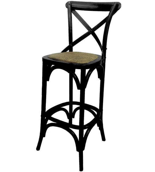 New Quot Noosa Quot Oak Black French Bistro Style Timber Cross